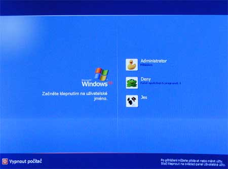 how to change windows xp welcome screen